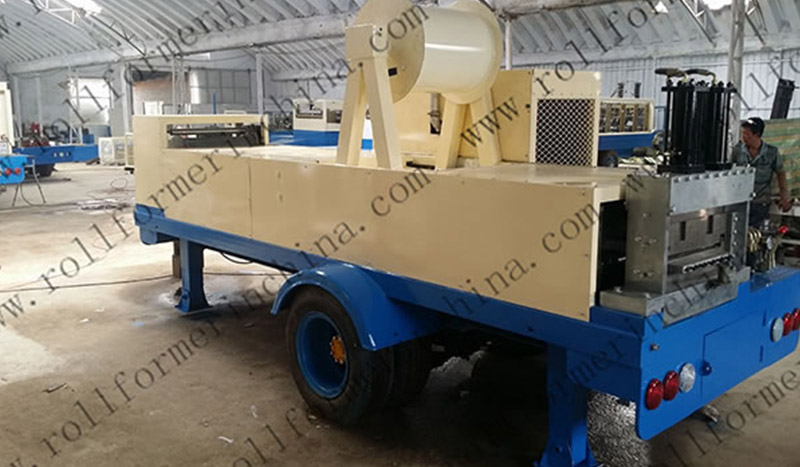 KR 18/24/163 Frame Roof Panel Roll Forming Machine